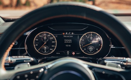 2020 Bentley Flying Spur (Color: Verdant) Digital Instrument Cluster Wallpapers 450x275 (51)
