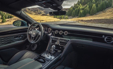 2020 Bentley Flying Spur (Color: Verdant) Interior Wallpapers 450x275 (50)