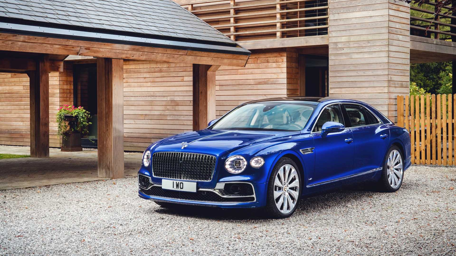 2020 Bentley Flying Spur First Edition Front Three-Quarter Wallpapers (4)