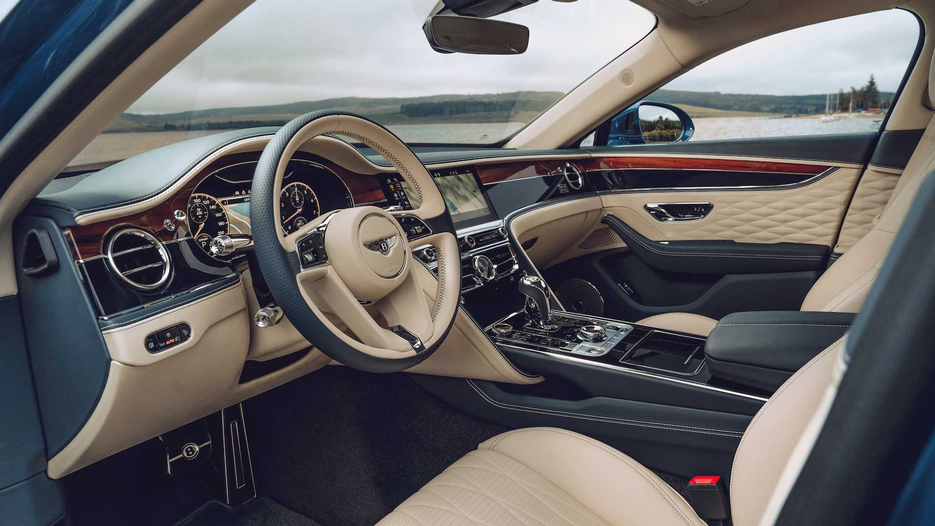 2020 Bentley Flying Spur First Edition Interior Wallpapers (10)