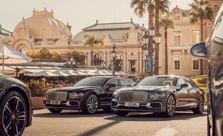 2020 Bentley Flying Spur in Monaco Wallpapers 450x275 (132)