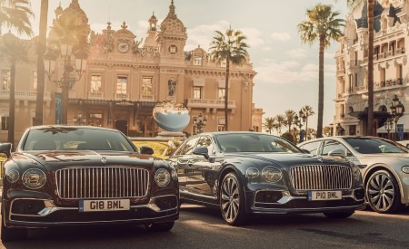 2020 Bentley Flying Spur in Monaco Wallpapers 450x275 (133)