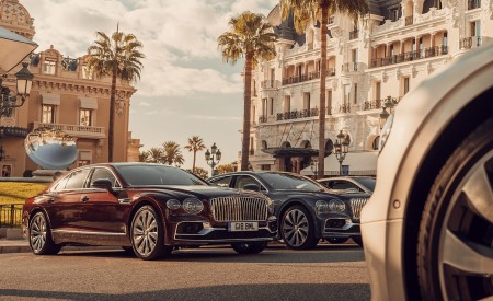 2020 Bentley Flying Spur in Monaco Wallpapers 450x275 (134)