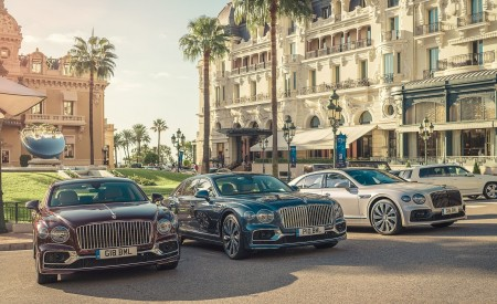 2020 Bentley Flying Spur in Monaco Wallpapers 450x275 (136)