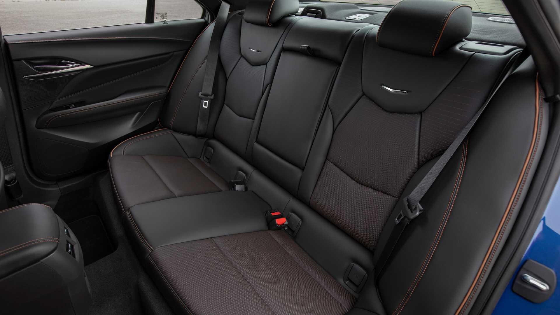 2020 Cadillac CT4-V Interior Rear Seats Wallpapers (11)