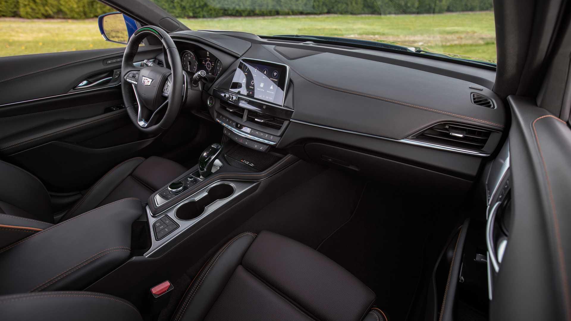 2020 Cadillac CT4-V Interior Wallpapers (14)