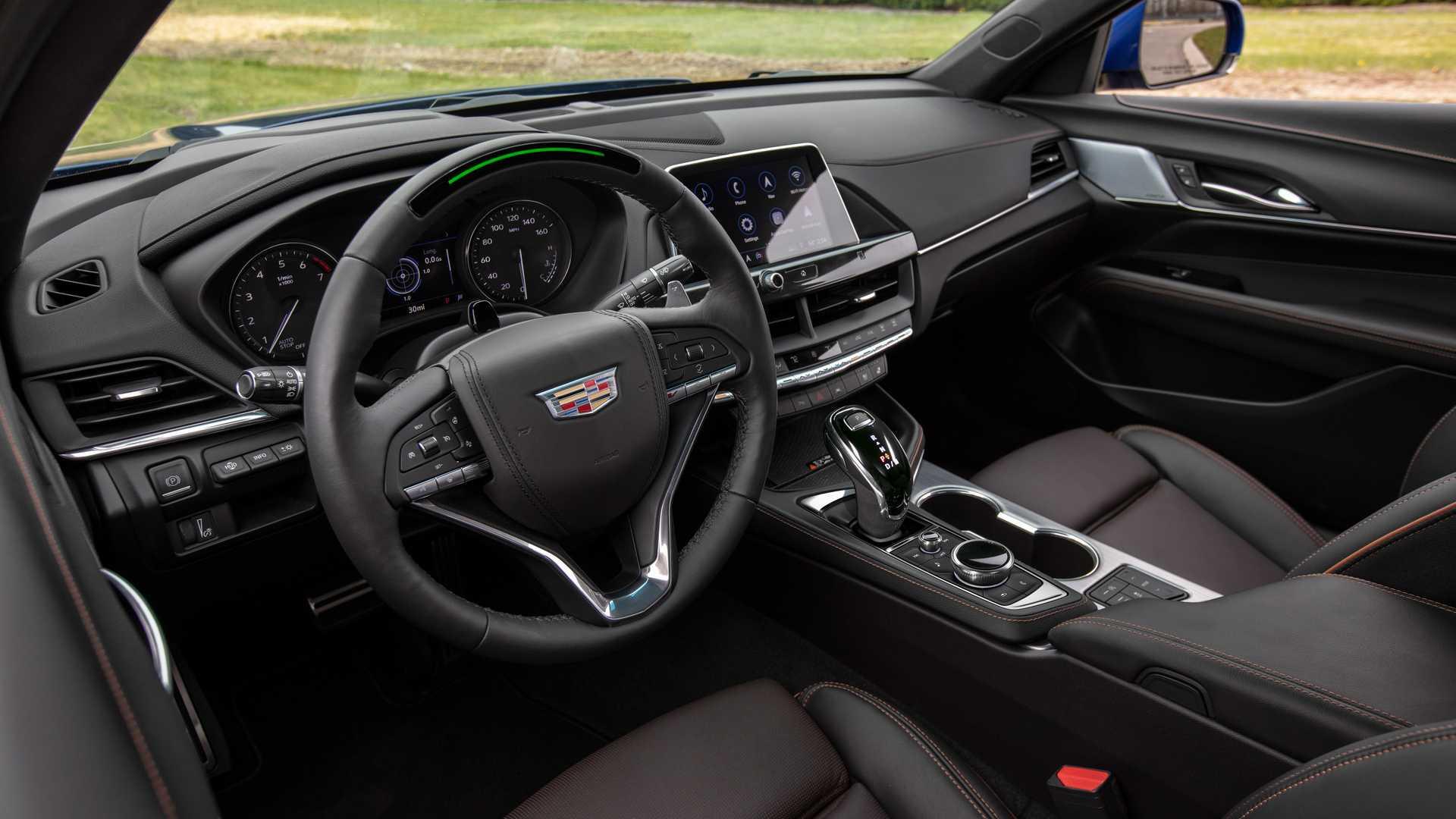 2020 Cadillac CT4-V Interior Wallpapers (13)