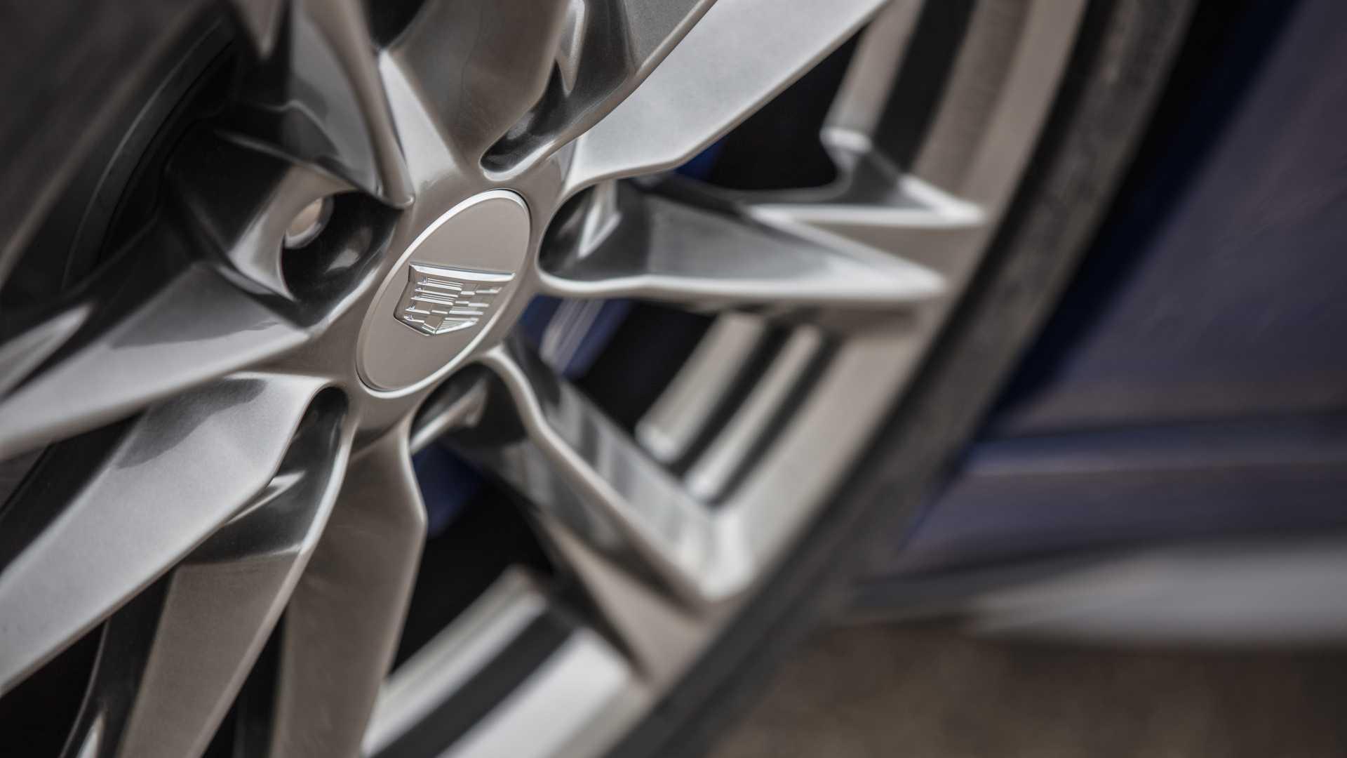 2020 Cadillac CT4-V Wheel Wallpapers (7)