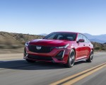 2020 Cadillac CT5-V Front Three-Quarter Wallpapers 150x120 (1)