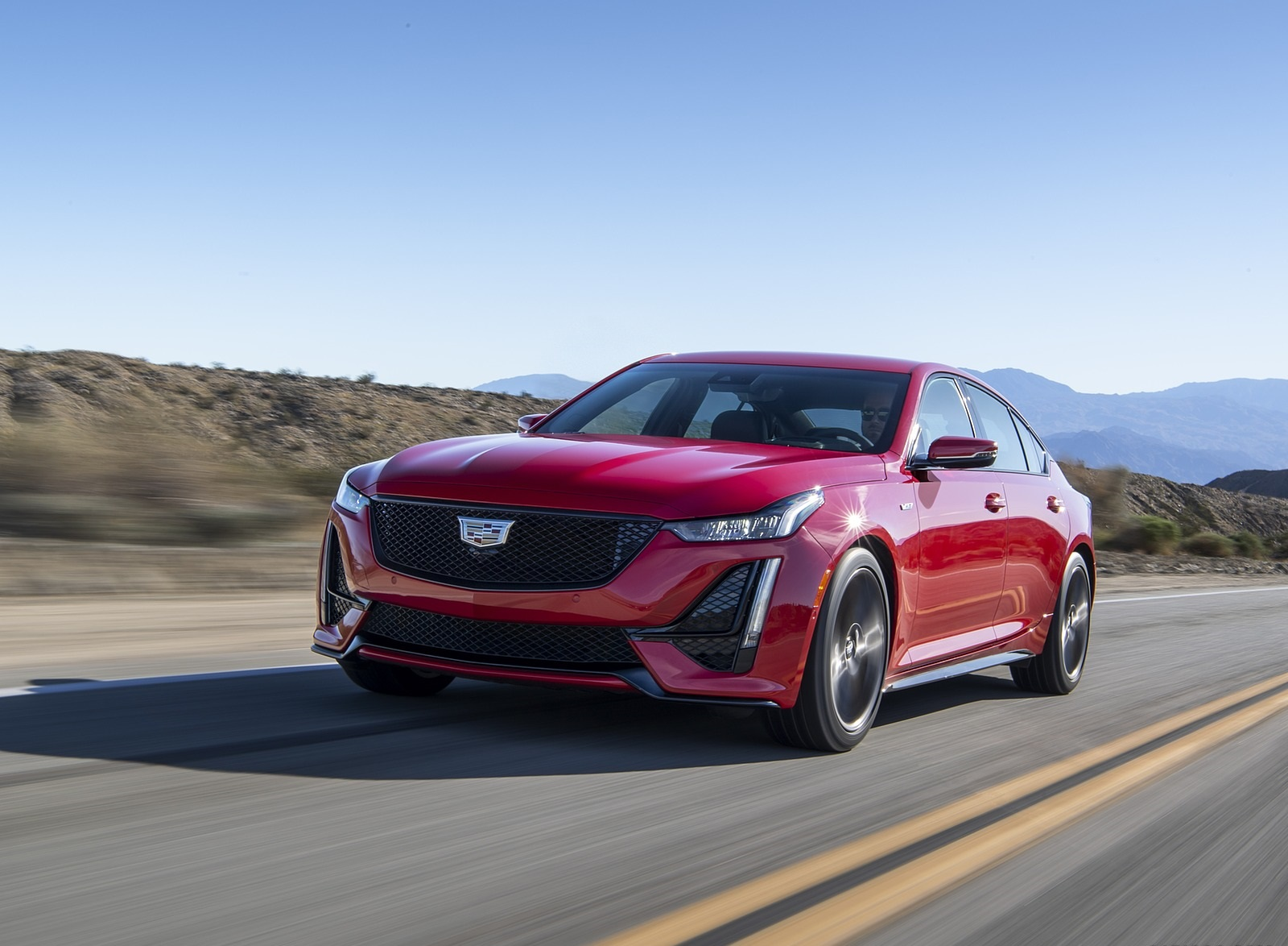 2020 Cadillac CT5-V Front Three-Quarter Wallpapers (1)