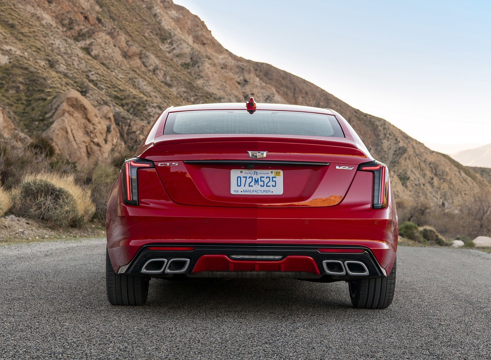 2020 Cadillac CT5-V Rear Wallpapers (6)