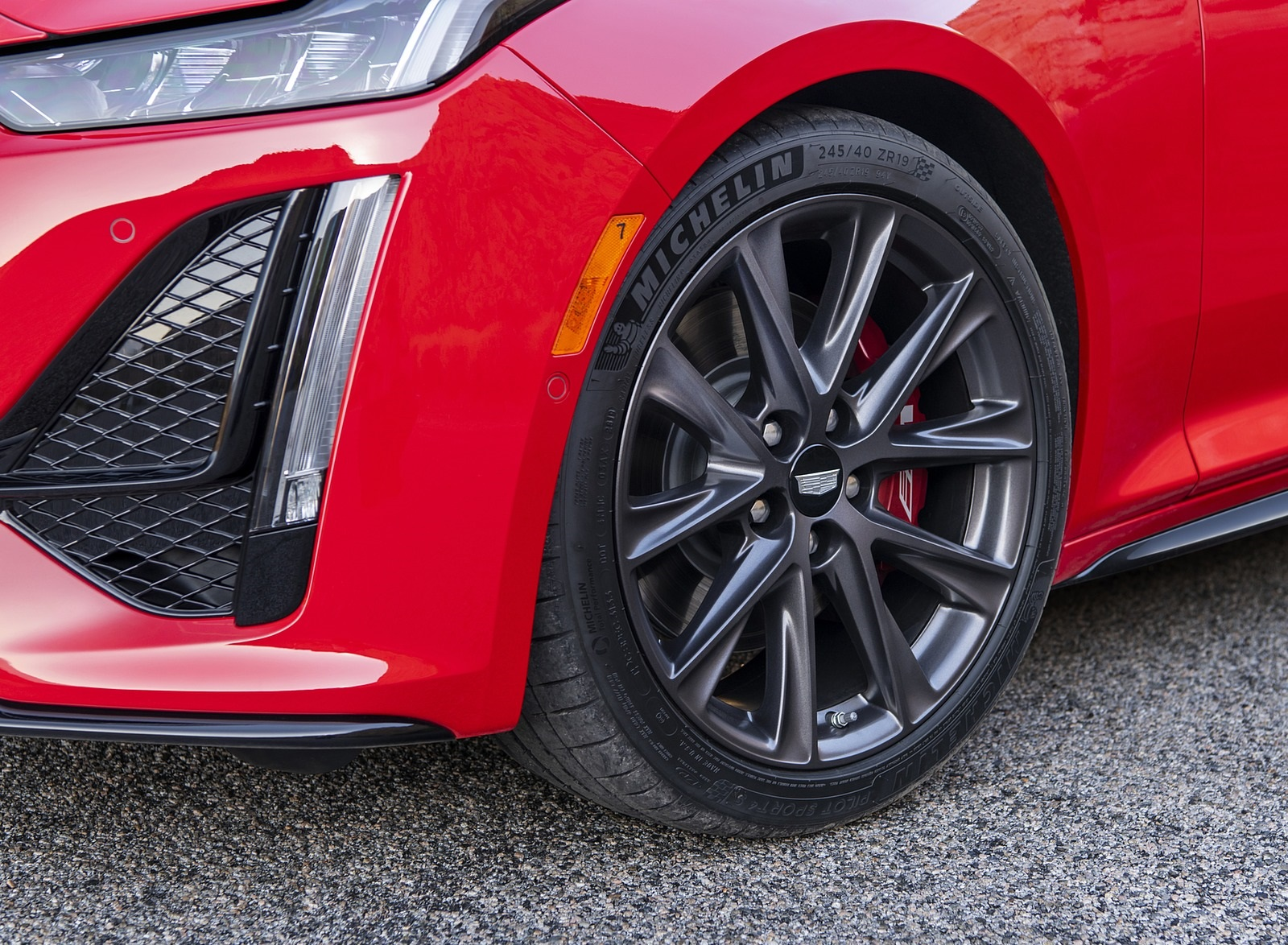 2020 Cadillac CT5-V Wheel Wallpapers (7)