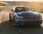 2020 Dodge Charger SRT Hellcat Widebody (Color: IndiGo Blue) Front Three-Quarter Wallpapers 150x120 (38)