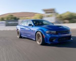 2020 Dodge Charger SRT Hellcat Widebody (Color: IndiGo Blue) Front Three-Quarter Wallpapers 150x120 (28)