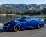 2020 Dodge Charger SRT Hellcat Widebody (Color: IndiGo Blue) Front Three-Quarter Wallpapers 150x120 (29)
