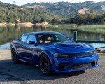 2020 Dodge Charger SRT Hellcat Widebody (Color: IndiGo Blue) Front Three-Quarter Wallpapers 150x120 (30)