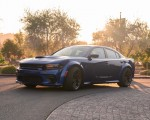 2020 Dodge Charger SRT Hellcat Widebody (Color: IndiGo Blue) Front Three-Quarter Wallpapers 150x120 (39)