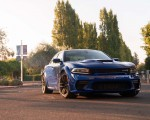 2020 Dodge Charger SRT Hellcat Widebody (Color: IndiGo Blue) Front Wallpapers 150x120 (41)