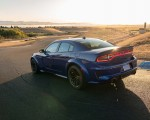 2020 Dodge Charger SRT Hellcat Widebody (Color: IndiGo Blue) Rear Three-Quarter Wallpapers 150x120 (43)