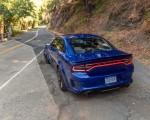 2020 Dodge Charger SRT Hellcat Widebody (Color: IndiGo Blue) Rear Three-Quarter Wallpapers 150x120