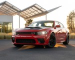 2020 Dodge Charger SRT Hellcat Widebody (Color: TorRed) Front Three-Quarter Wallpapers 150x120 (16)