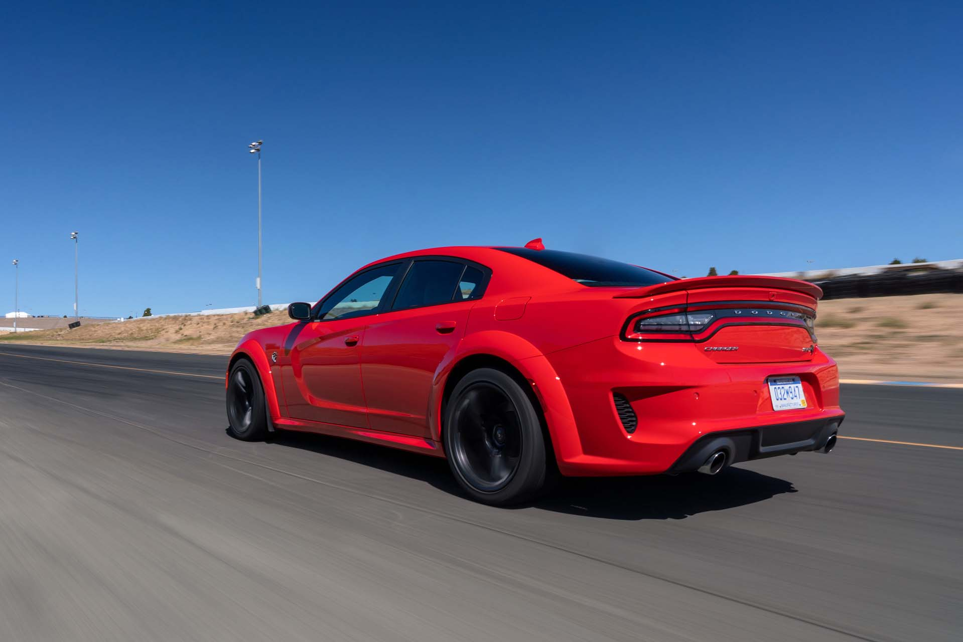 2020 Dodge Charger SRT Hellcat Widebody (Color: TorRed) Rear Three-Quarter Wallpapers (8)