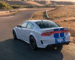 2020 Dodge Charger SRT Hellcat Widebody (Color: White Knuckle) Rear Three-Quarter Wallpapers 150x120