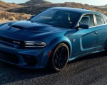 2020 Dodge Charger SRT Hellcat Widebody Front Three-Quarter Wallpapers 150x120 (2)