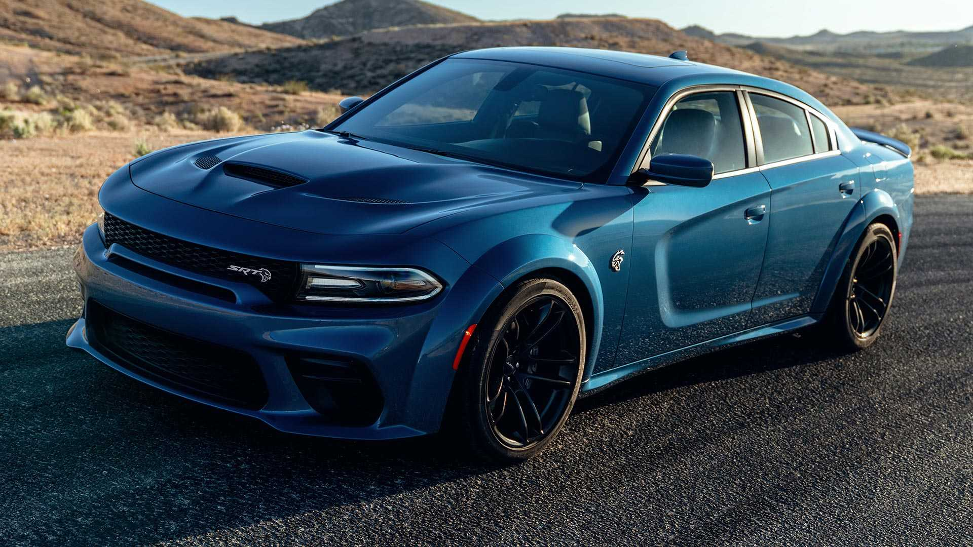 2020 Dodge Charger SRT Hellcat Widebody Front Three-Quarter Wallpapers (2)