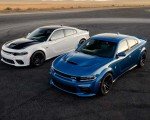 2020 Dodge Charger SRT Hellcat Widebody Front Three-Quarter Wallpapers 150x120 (20)