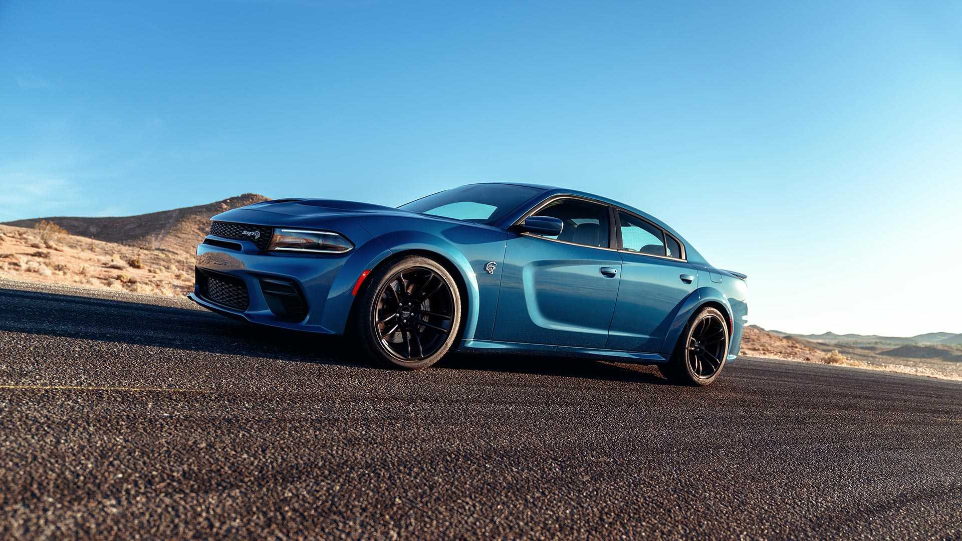 2020 Dodge Charger SRT Hellcat Widebody Front Three-Quarter Wallpapers (3)