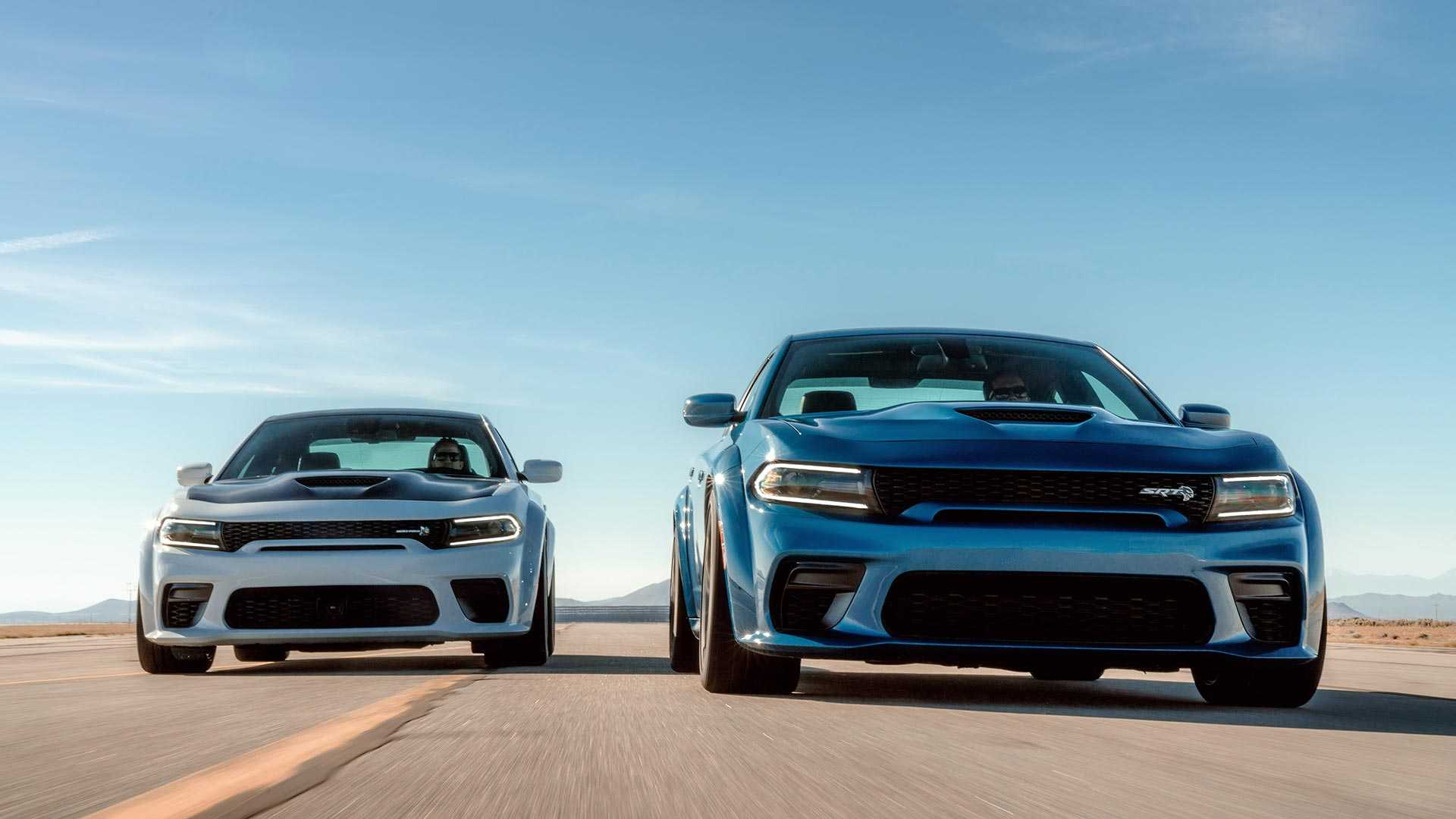 2020 Dodge Charger SRT Hellcat Widebody Front Wallpapers (10)