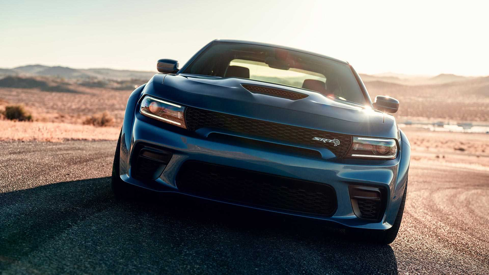 2020 Dodge Charger SRT Hellcat Widebody Front Wallpapers (12)