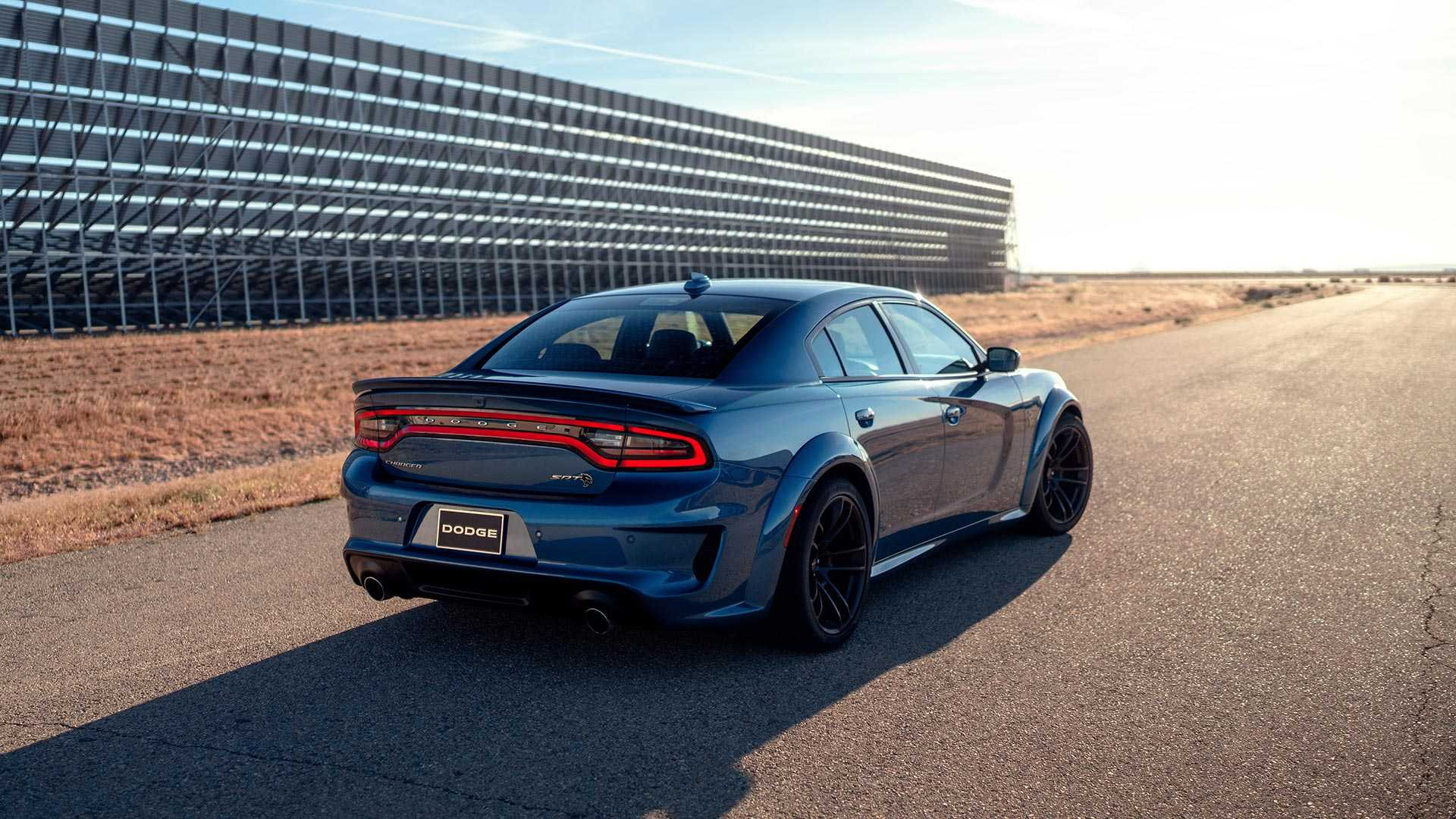 2020 Dodge Charger SRT Hellcat Widebody Rear Three-Quarter Wallpapers (15)