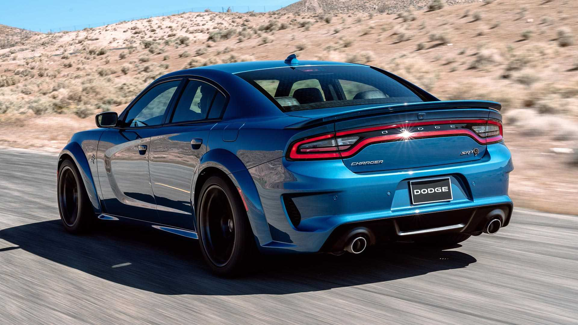2020 Dodge Charger SRT Hellcat Widebody Rear Three-Quarter Wallpapers #111 of 183