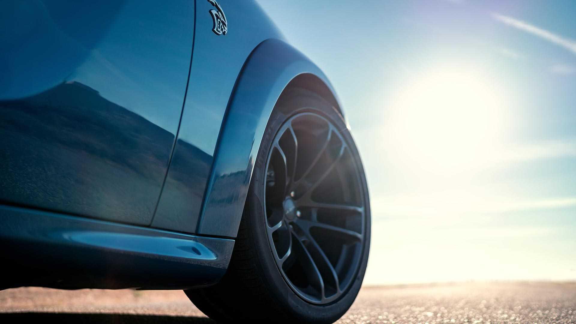 2020 Dodge Charger SRT Hellcat Widebody Wheel Wallpapers #47 of 79