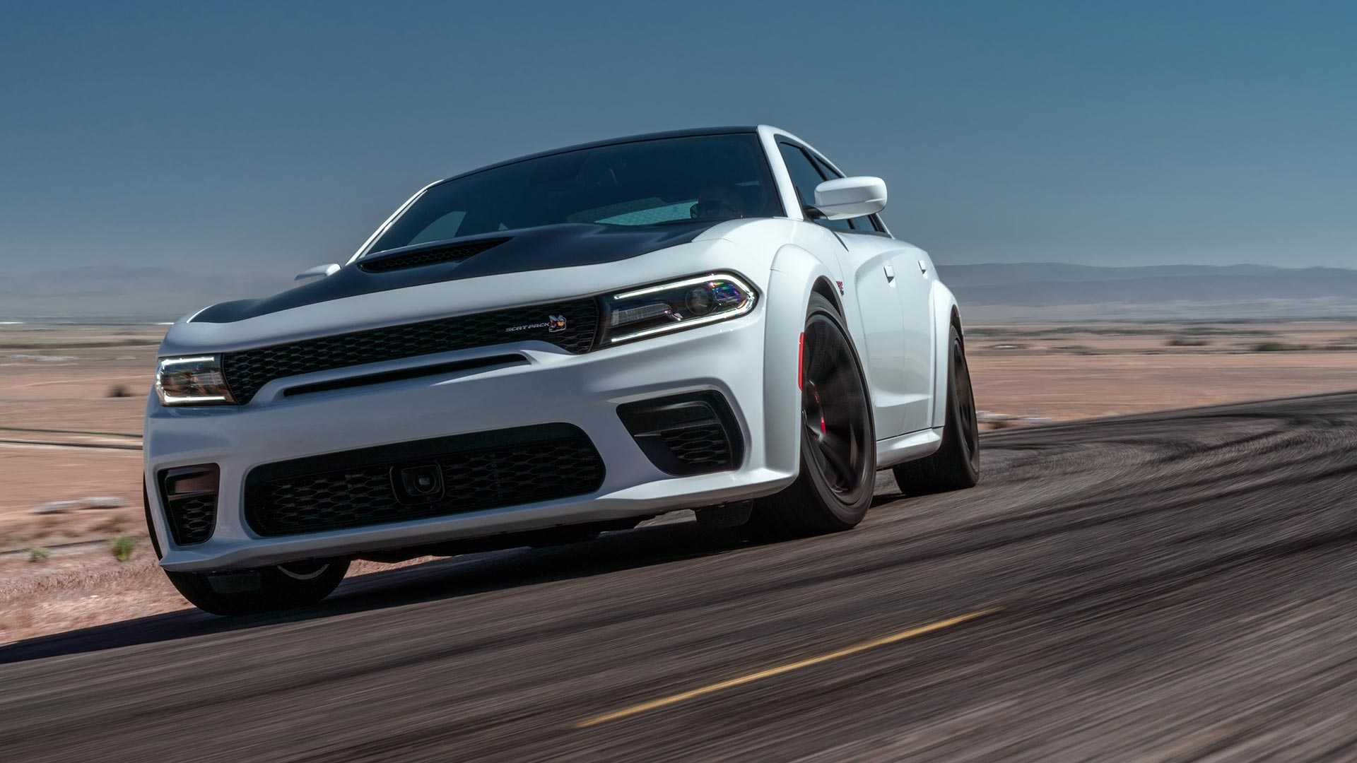 2020 Dodge Charger Scat Pack Widebody Front Three-Quarter Wallpapers (1)
