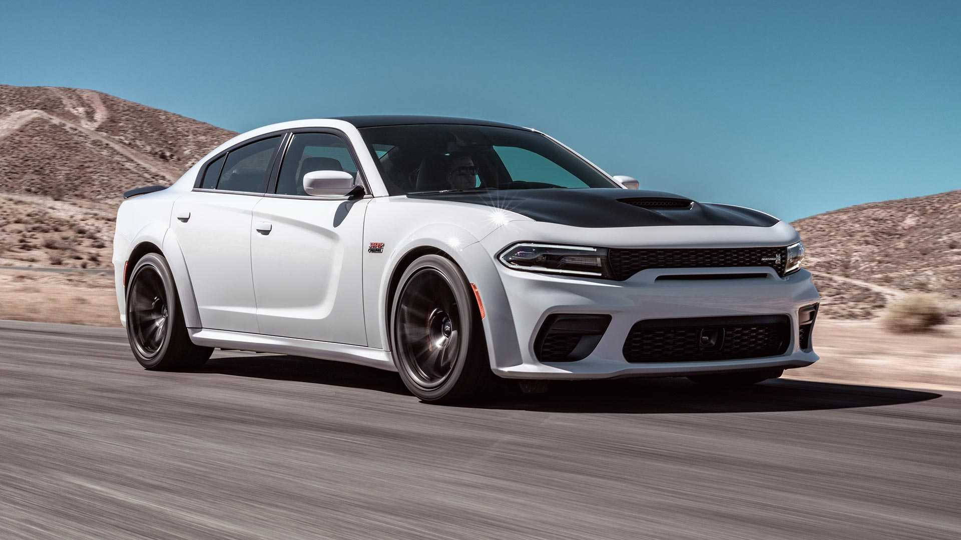 2020 Dodge Charger Scat Pack Widebody Front Three-Quarter Wallpapers (2)