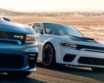 2020 Dodge Charger Scat Pack Widebody Front Three-Quarter Wallpapers 150x120 (8)