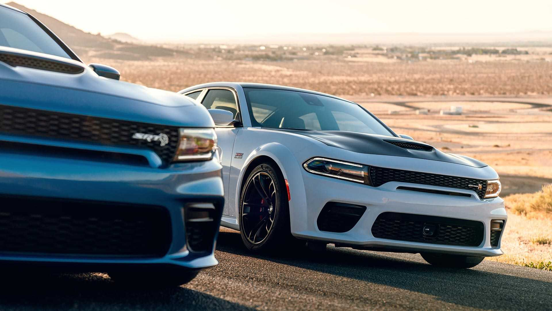 2020 Dodge Charger Scat Pack Widebody Front Three-Quarter Wallpapers (8)
