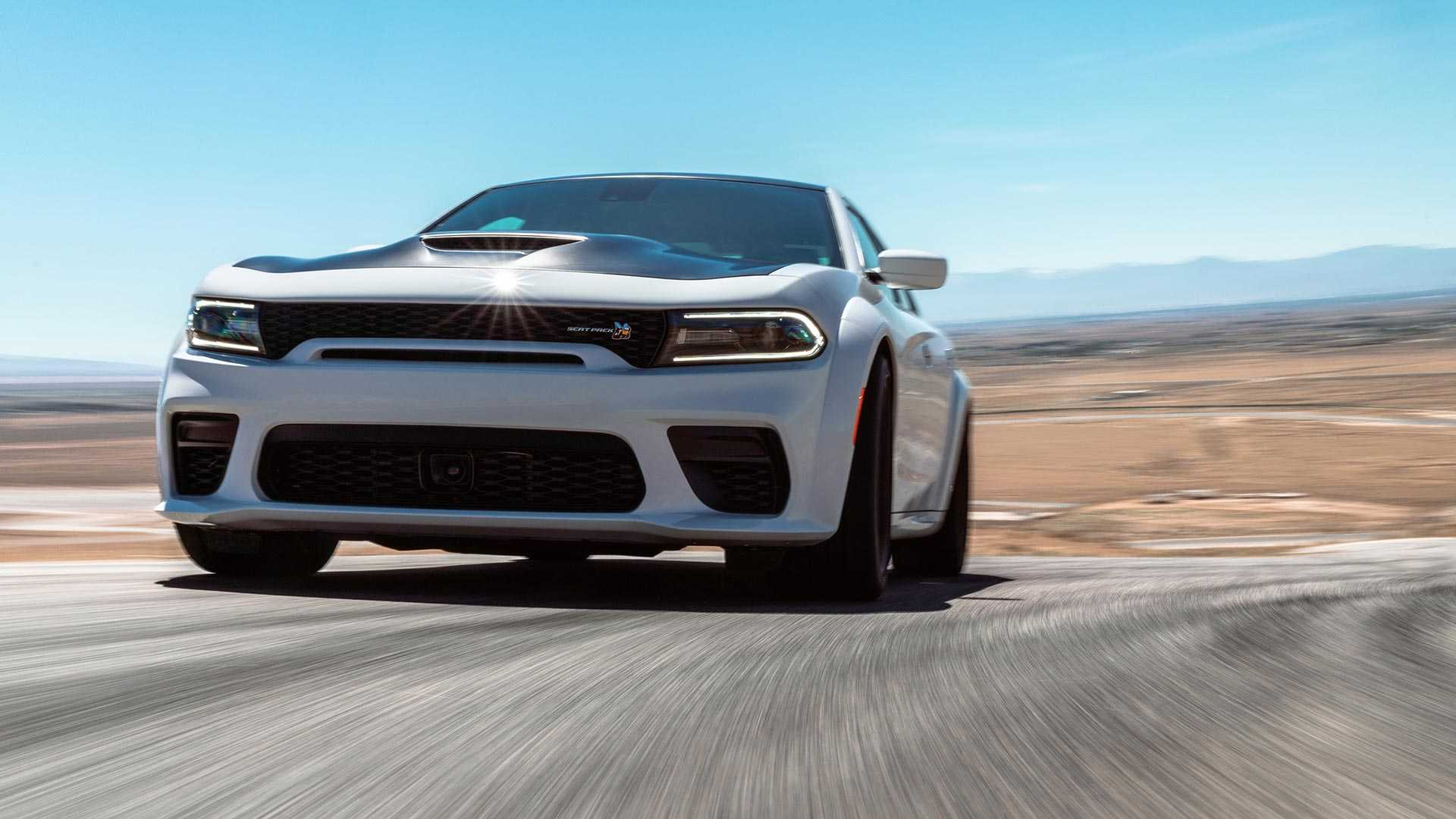 2020 Dodge Charger Scat Pack Widebody Front Three-Quarter Wallpapers (3)