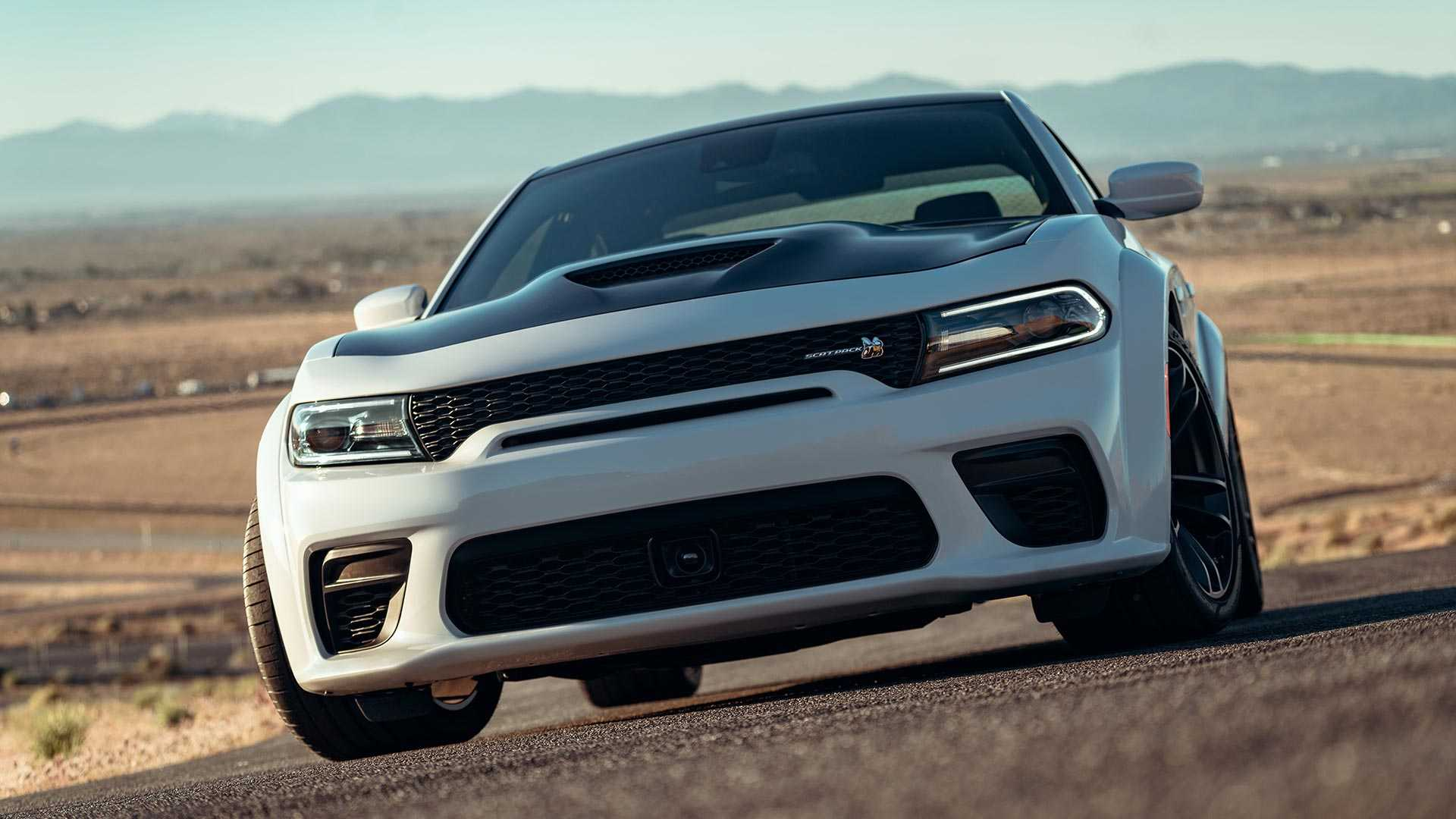 2020 Dodge Charger Scat Pack Widebody Front Wallpapers (9)