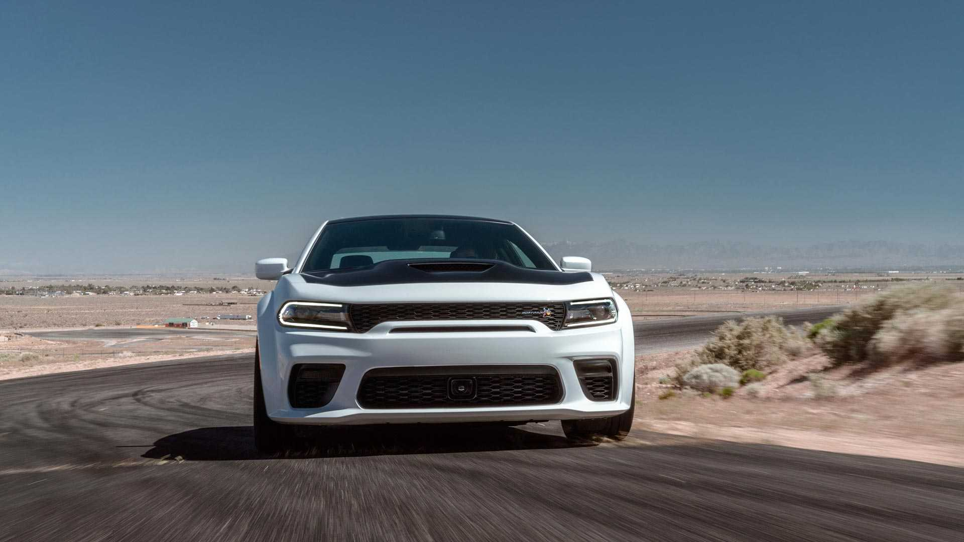 2020 Dodge Charger Scat Pack Widebody Front Wallpapers (4)