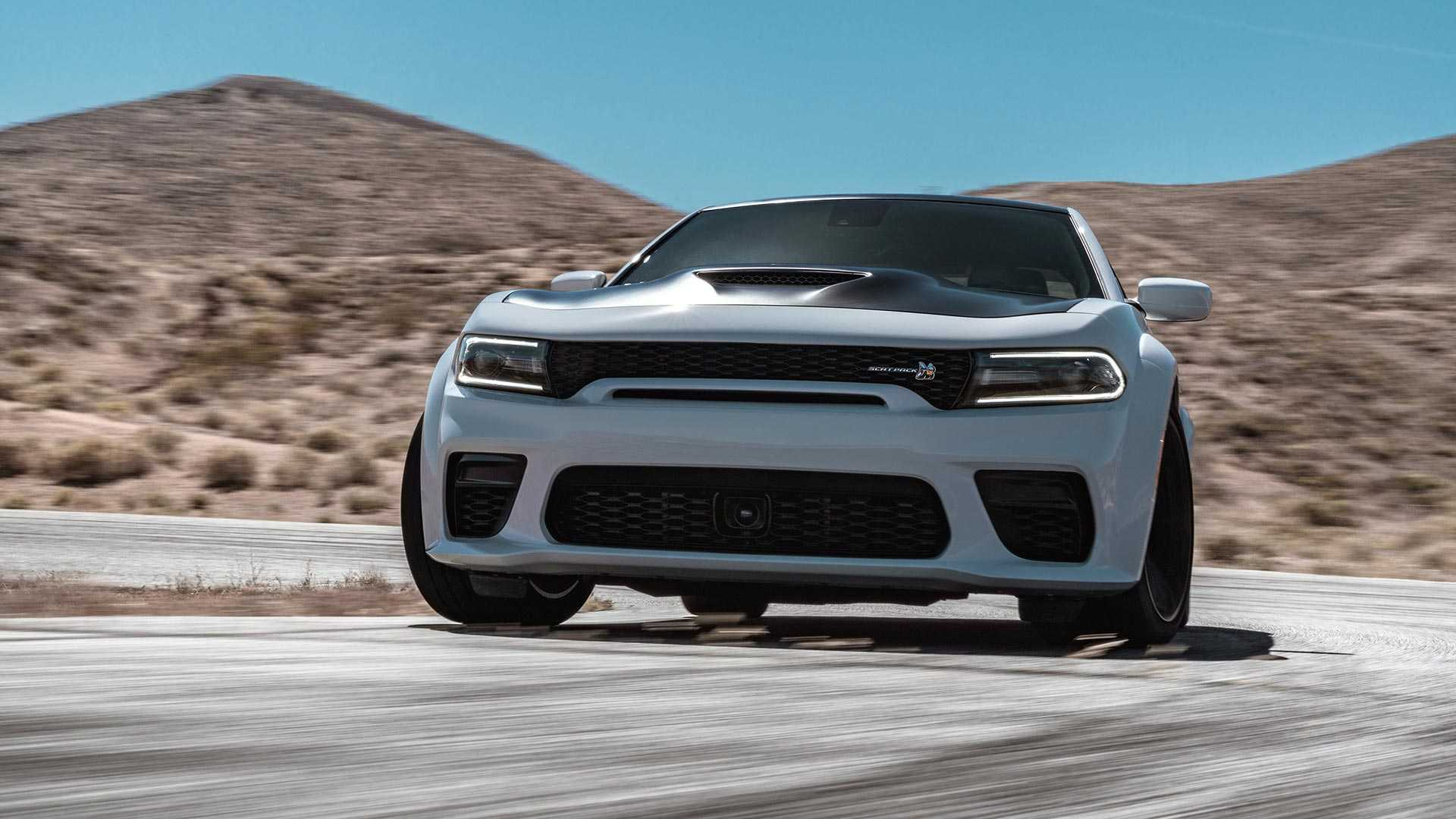 2020 Dodge Charger Scat Pack Widebody Front Wallpapers (6)