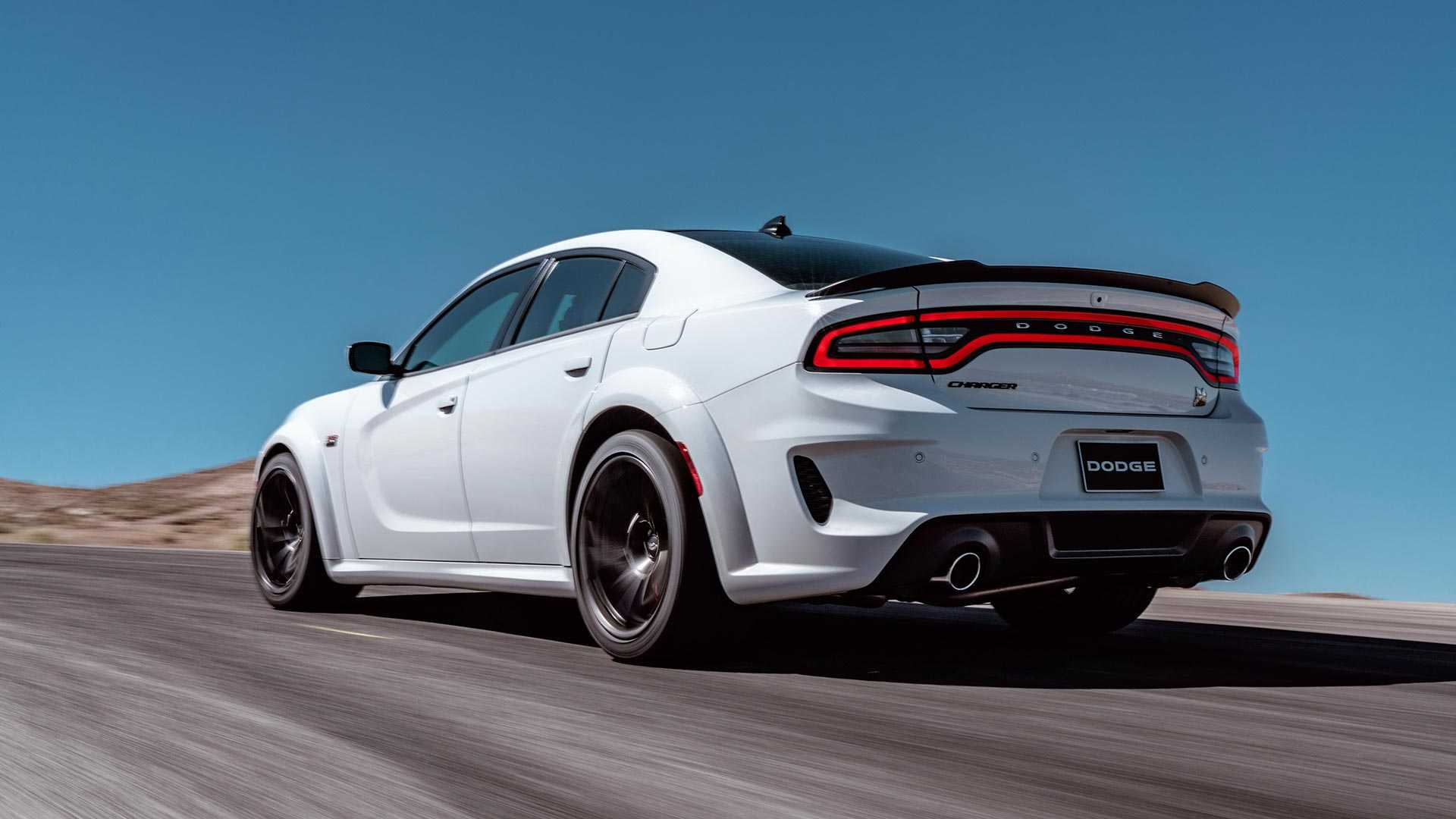 2020 Dodge Charger Scat Pack Widebody Rear Three-Quarter Wallpapers (7)