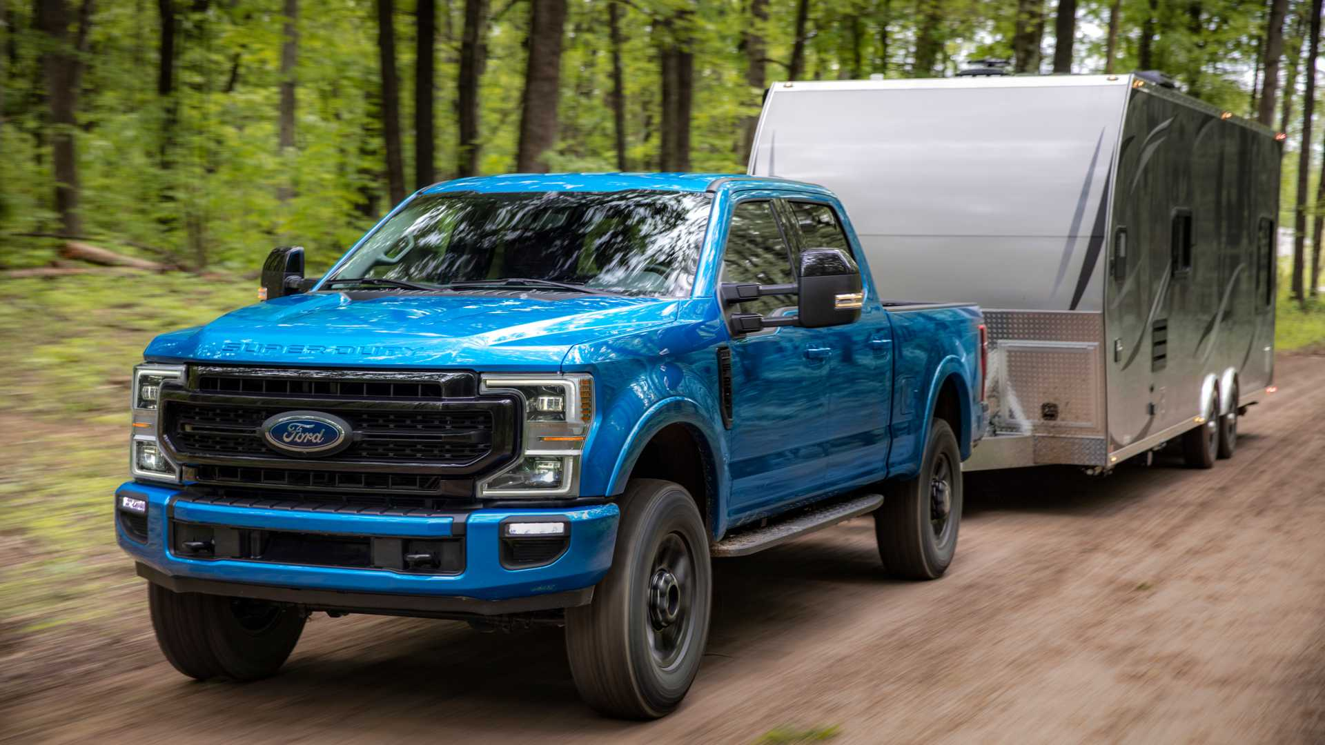 2020 Ford F-Series Super Duty with Tremor Off-Road Package Front Wallpapers (2)