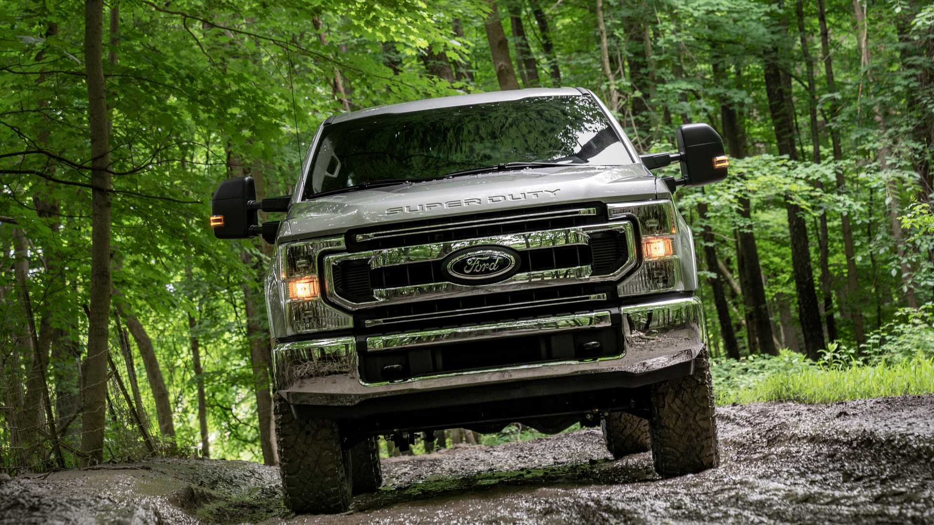 2020 Ford F-Series Super Duty with Tremor Off-Road Package Off-Road Wallpapers (12)