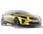 2020 Kia XCeed Design Sketch Wallpapers 150x120 (32)