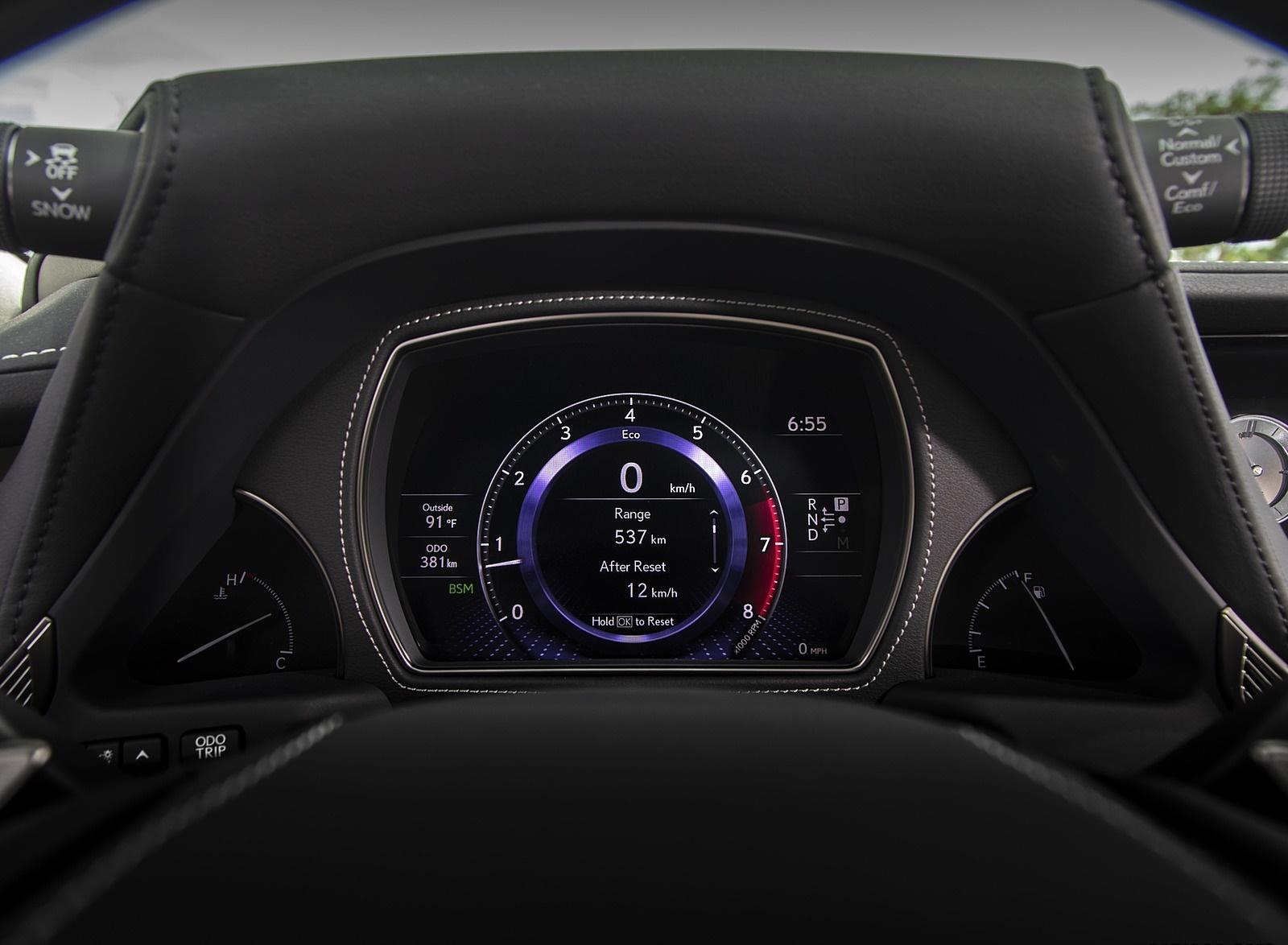 2020 Lexus LS 500 Inspiration Series Digital Instrument Cluster Wallpapers (12)