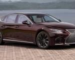 2020 Lexus LS 500 Inspiration Series Front Three-Quarter Wallpapers 150x120 (2)